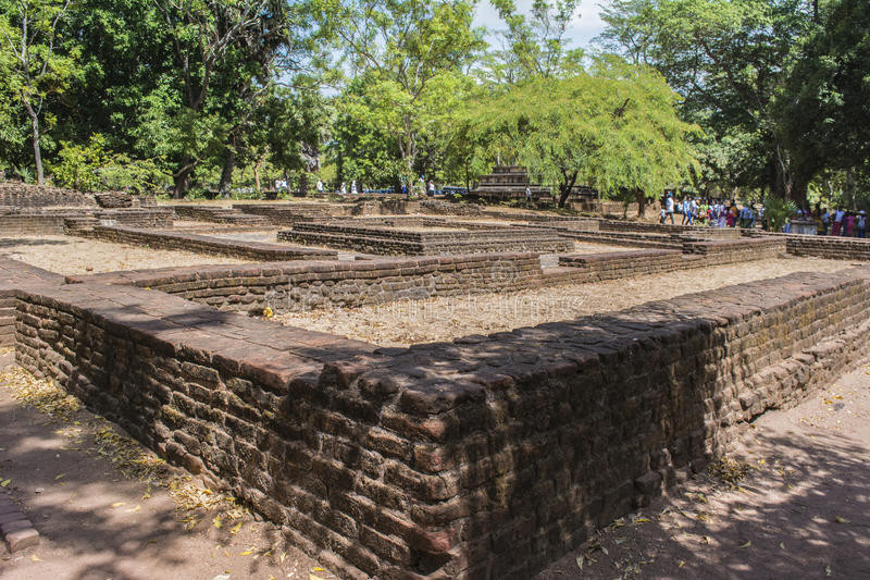 La città antica di Polonnaruwa rovina lo Sri Lanka immagini stock