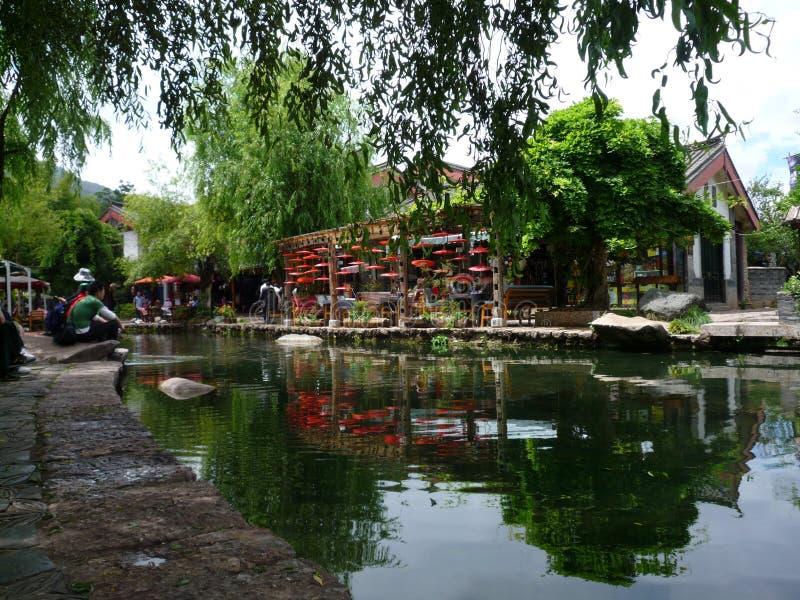 La città antica di Shuhe immagine stock
