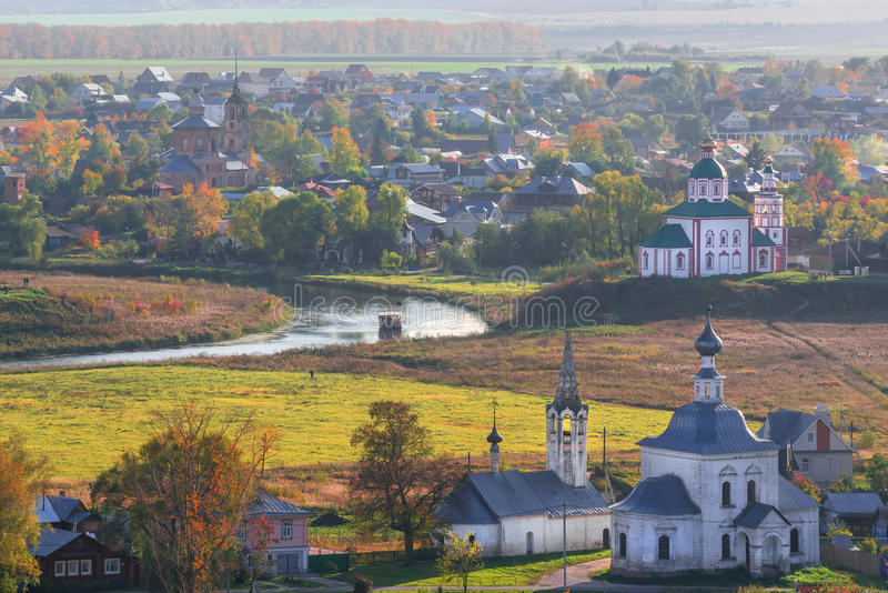La città antica di Suzdal' immagine stock libera da diritti