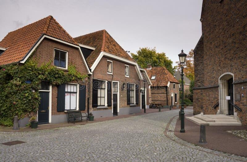 La città Bredevoort del libro immagine stock