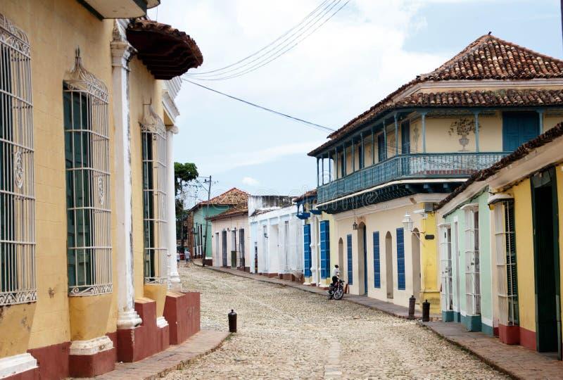 La città coloniale di Trinidad in Cuba - 2 fotografia stock libera da diritti