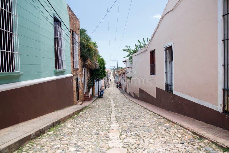 La città coloniale di Trinidad in Cuba - 4 fotografia stock libera da diritti