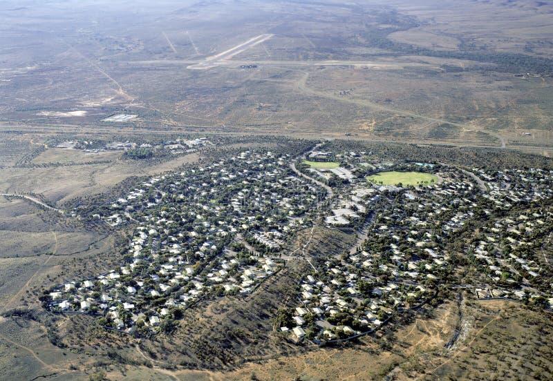 La città di estrazione mineraria di Leigh Cree fotografia stock libera da diritti