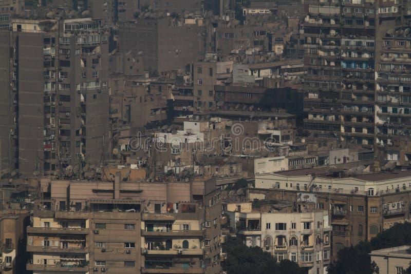 La città di Il Cairo fotografia stock libera da diritti