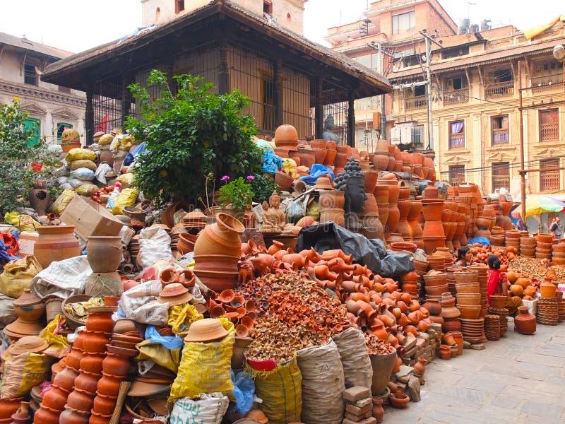 La città di Kathmandu, Nepal fotografia stock libera da diritti