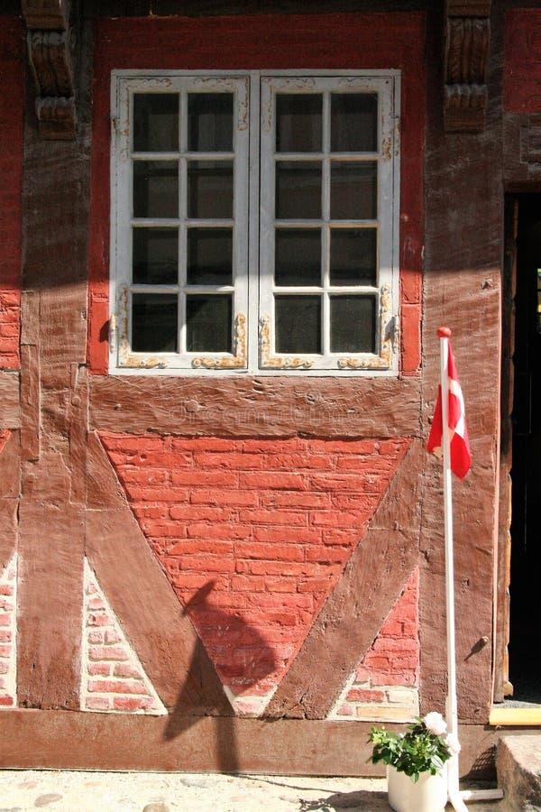 La città di koge in Danimarca immagine stock libera da diritti