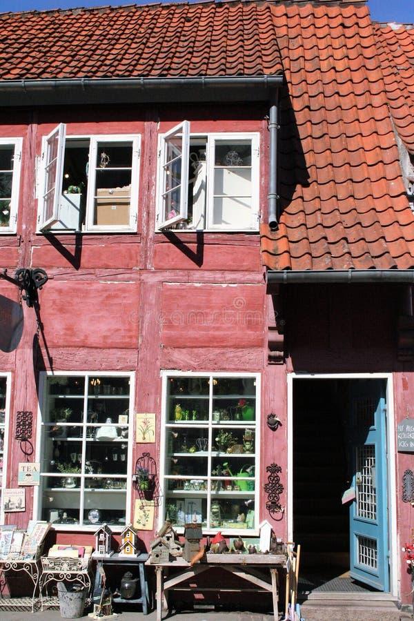 La città di koge in Danimarca fotografie stock libere da diritti