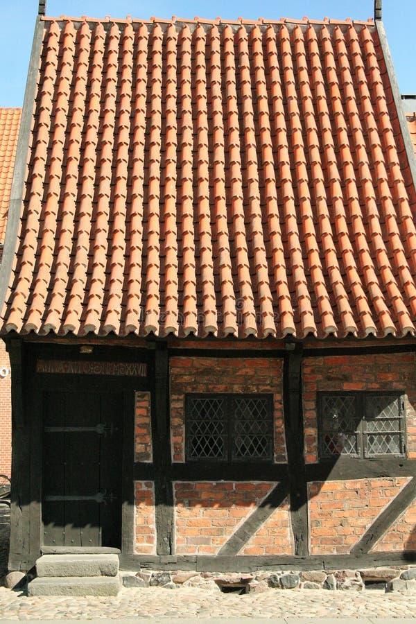 La città di koge in Danimarca fotografia stock libera da diritti