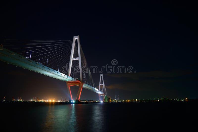 La città di Nagoya immagini stock libere da diritti