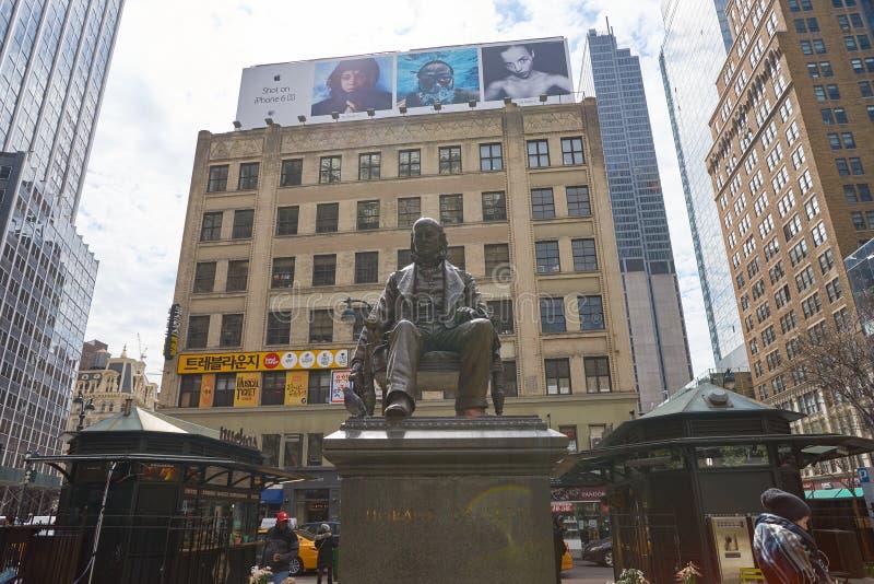 La città di New-York fotografia stock