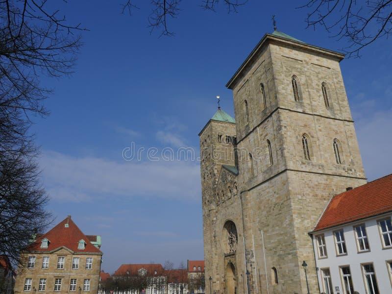 La città di osnabrueck in Germania fotografie stock