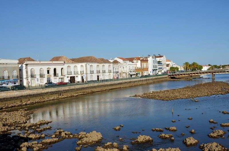 La città storica di Tavira fotografia stock