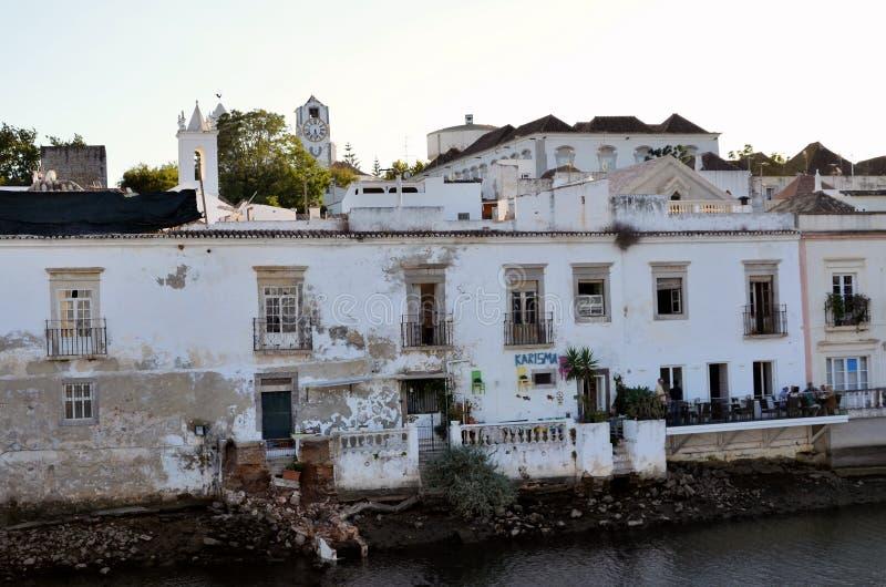 La città storica di Tavira immagini stock libere da diritti