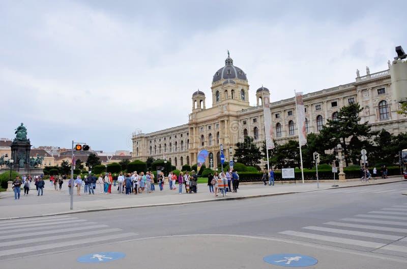 La città storica di Vienna immagini stock libere da diritti