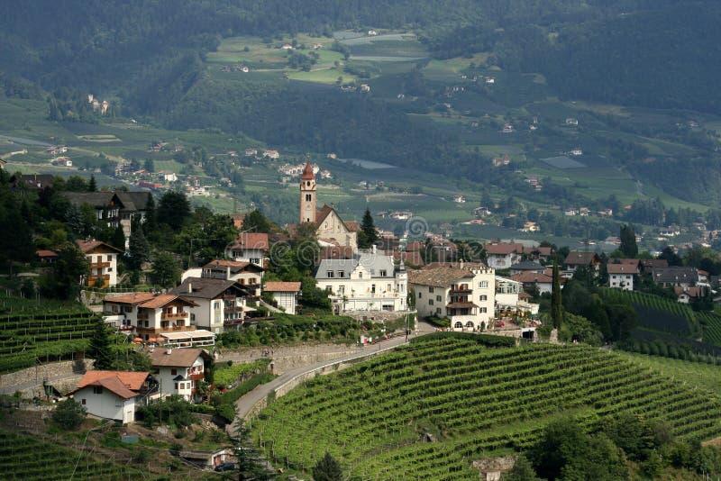 La città Tirol fotografia stock libera da diritti