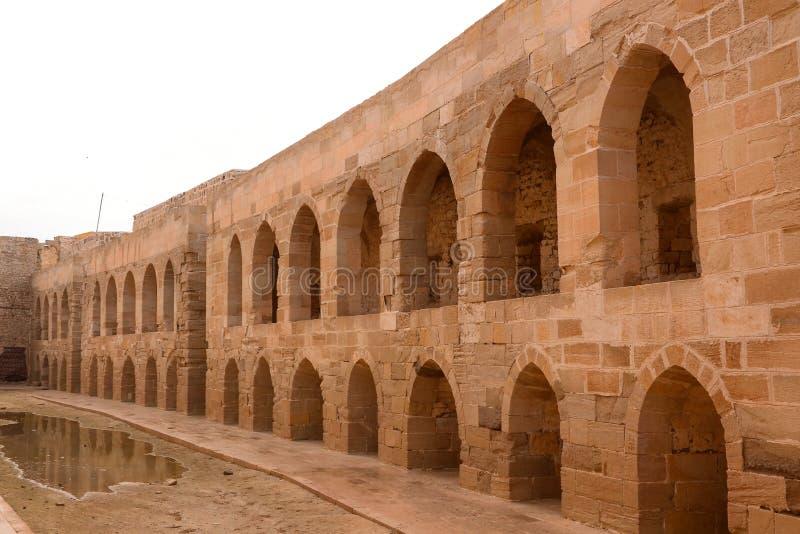 La cittadella di Qaitbay fotografie stock libere da diritti