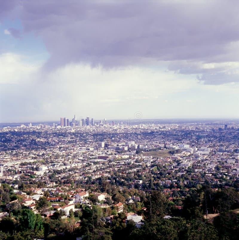LA Cityscape stock photography