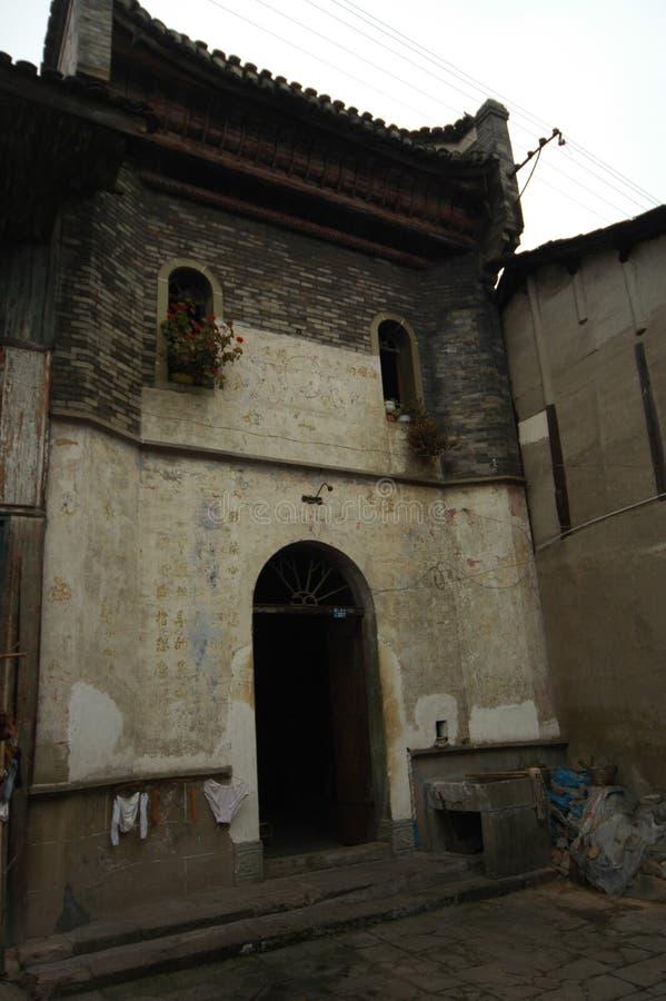 La ciudad antigua de la casa-Hekou imagen de archivo libre de regalías