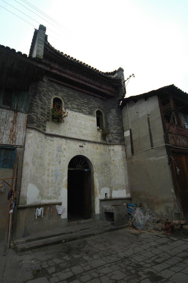 La ciudad antigua de la casa-Hekou fotografía de archivo libre de regalías