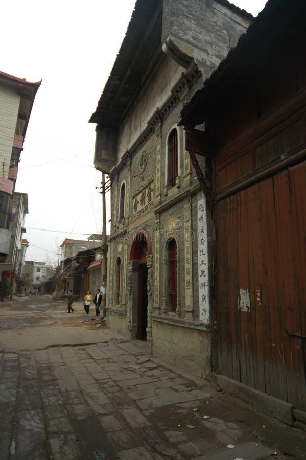 La ciudad antigua de la casa-Hekou fotografía de archivo