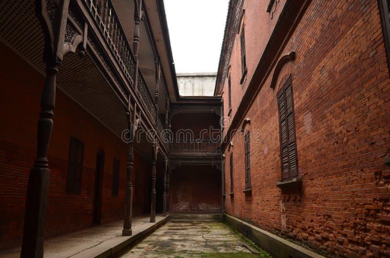 La ciudad antigua de Nanxun fotos de archivo