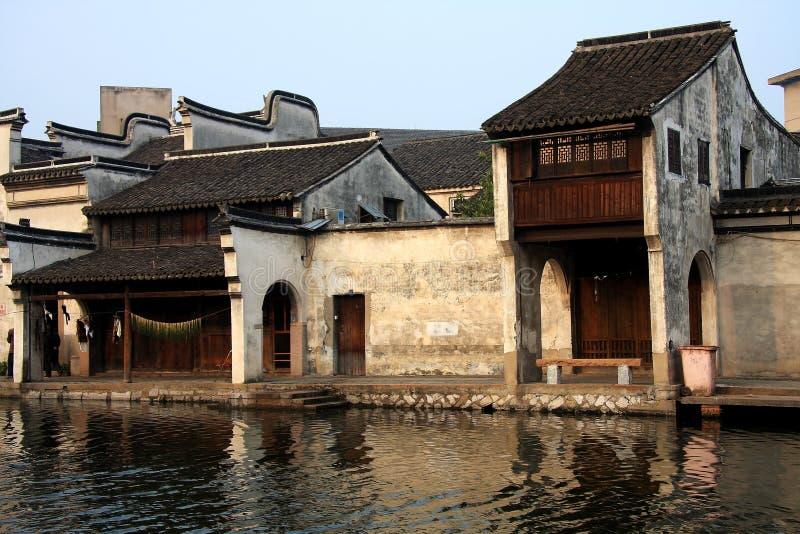 La ciudad antigua de Nanxun, Huzhou, Zhejiang, China imagenes de archivo