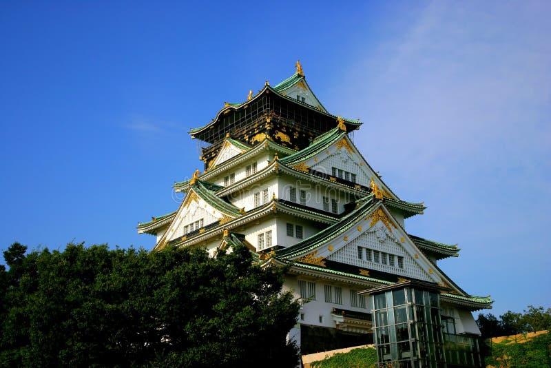 La ciudad antigua de Osaka, Japón imagen de archivo libre de regalías