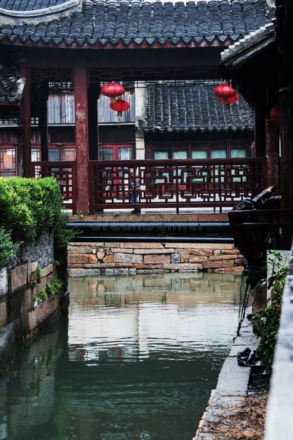 La ciudad antigua de Suzhou imagenes de archivo