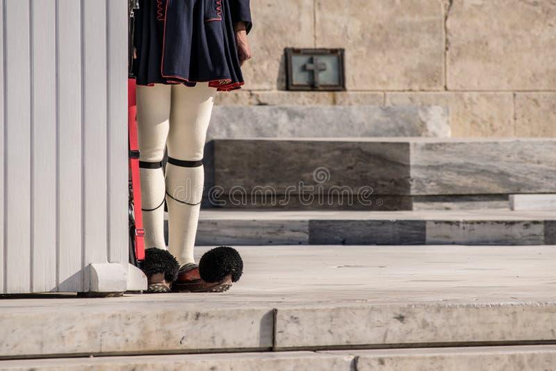 La ciudad de Atenas foto de archivo libre de regalías