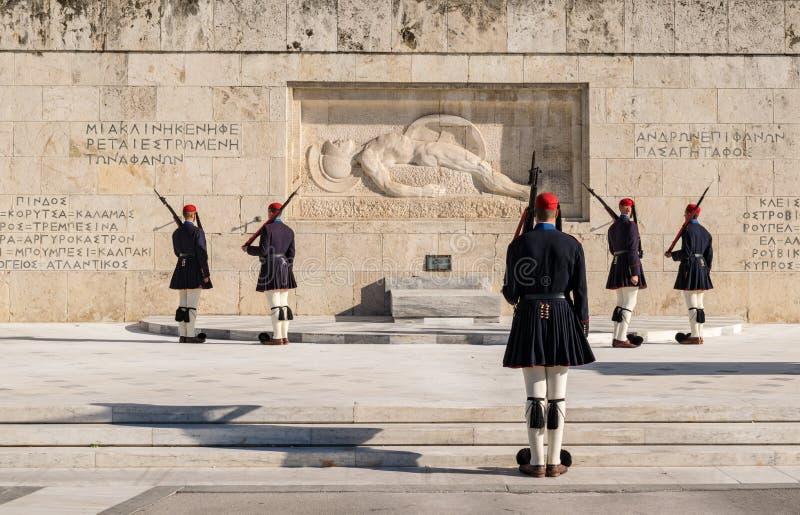 La ciudad de Atenas fotografía de archivo libre de regalías