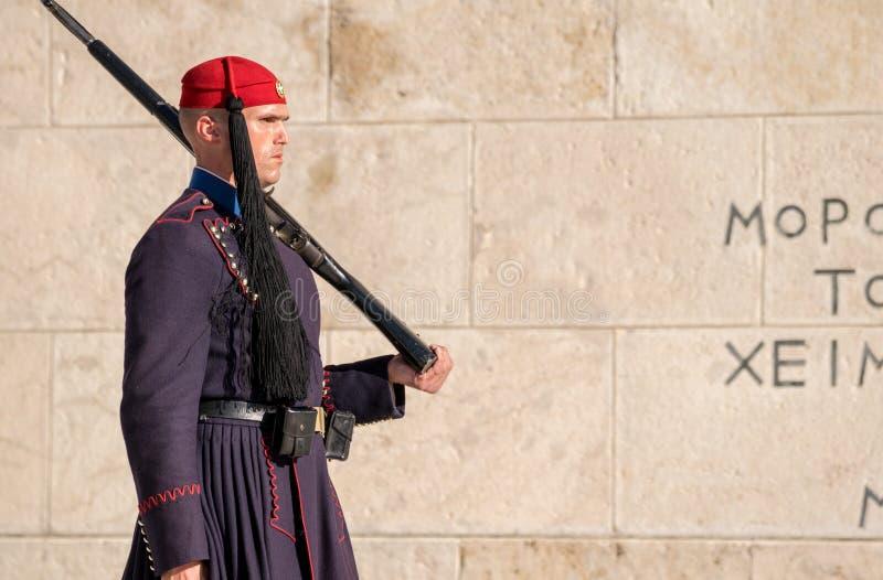La ciudad de Atenas foto de archivo