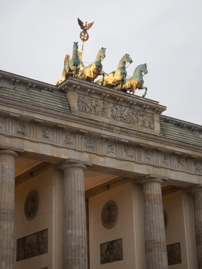 La ciudad de Berlín foto de archivo libre de regalías