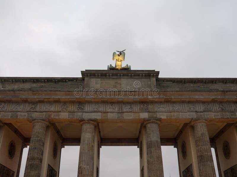 La ciudad de Berlín foto de archivo