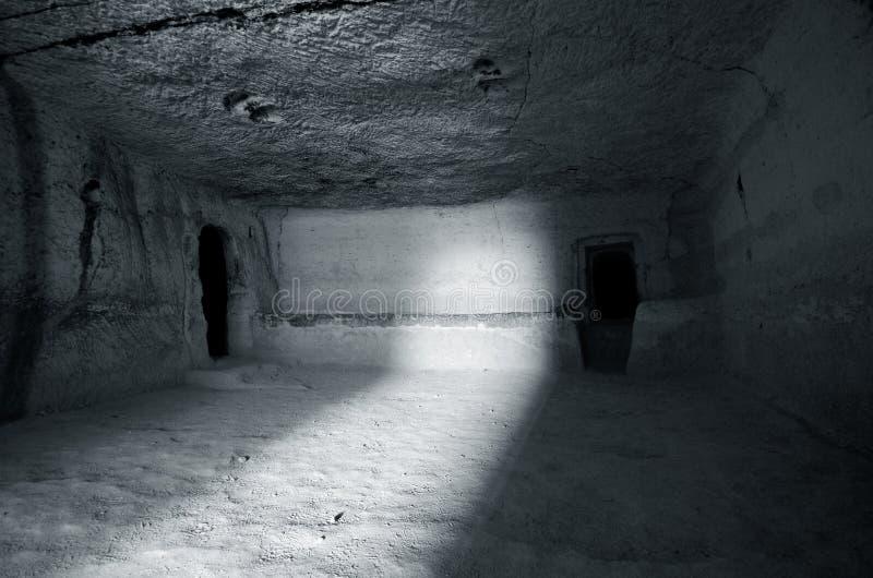 La ciudad de cuevas imágenes de archivo libres de regalías
