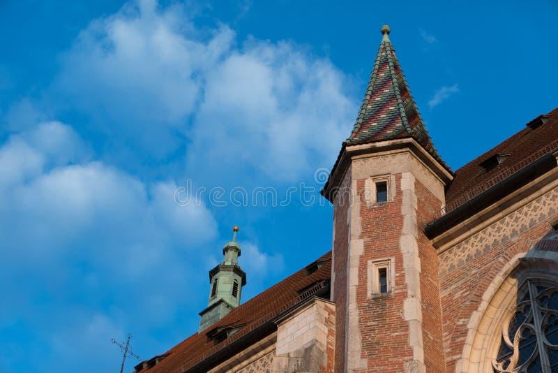 La ciudad de Ingolstadt en Alemania imagen de archivo libre de regalías