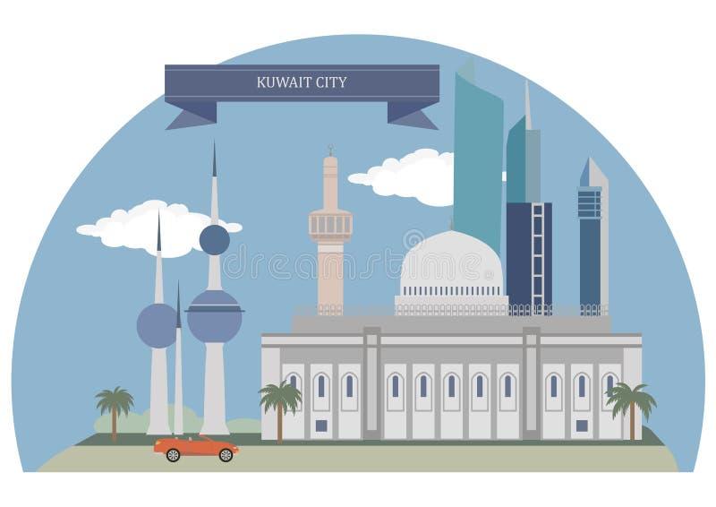 La ciudad de Kuwait, Kuwait libre illustration