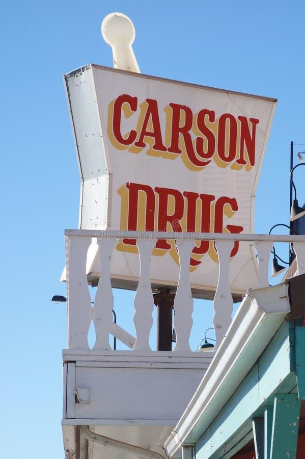 La ciudad de la fiebre del oro de Custer en el Black Hills de Dakota del Sur foto de archivo