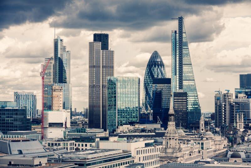 La ciudad de Londres foto de archivo libre de regalías