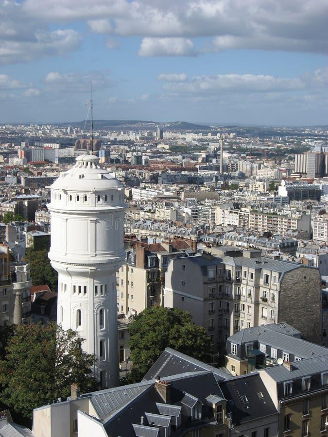 La ciudad de París fotografía de archivo libre de regalías