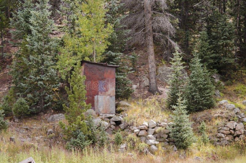 La ciudad de St Elmo en Colorado imágenes de archivo libres de regalías