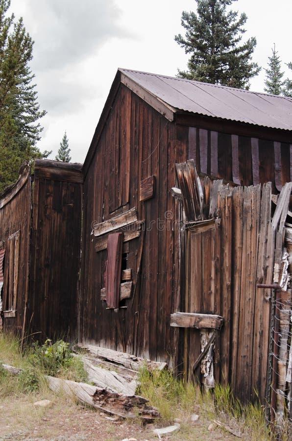 La ciudad de St Elmo en Colorado fotos de archivo libres de regalías