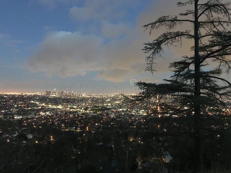 La ciudad de un sueño imagen de archivo libre de regalías
