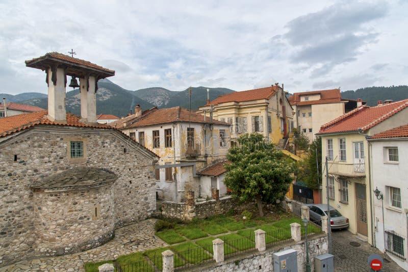 La ciudad de Xanthi imagen de archivo