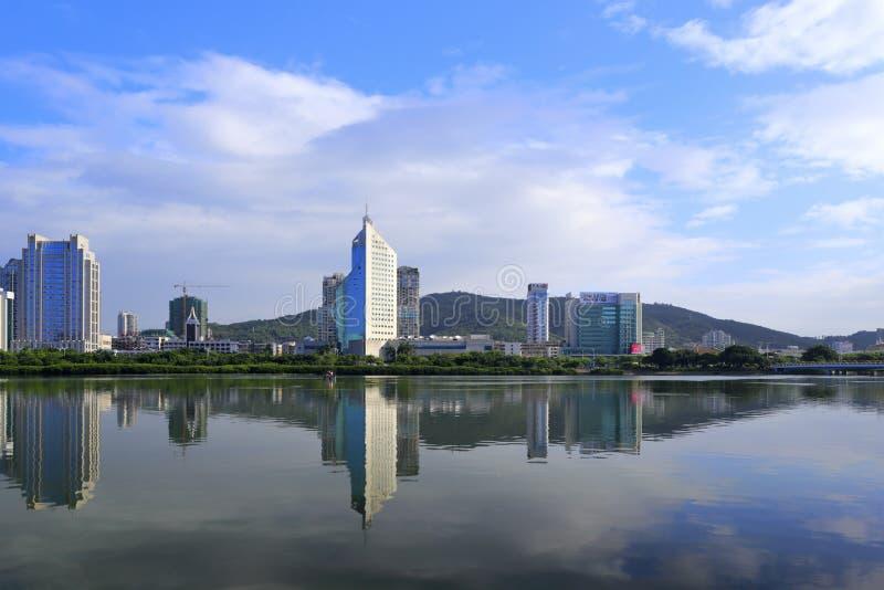 La ciudad de Xiamen foto de archivo