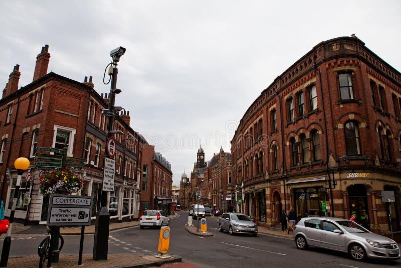 La ciudad de York en Inglaterra fotos de archivo libres de regalías