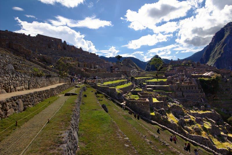 La ciudad del inca de Machu Picchu fotos de archivo libres de regalías