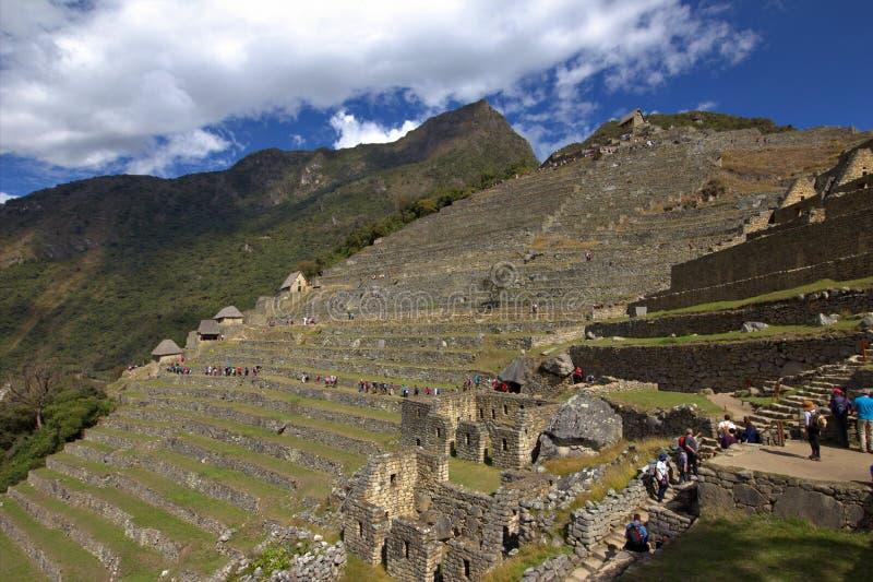 La ciudad del inca de Machu Picchu en Perú fotos de archivo