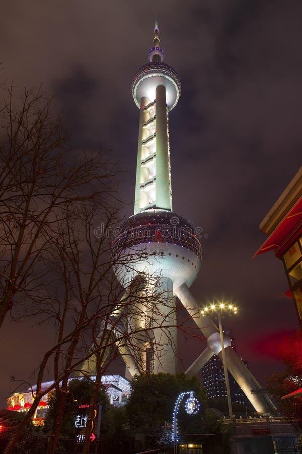 La ciudad en la noche foto de archivo libre de regalías