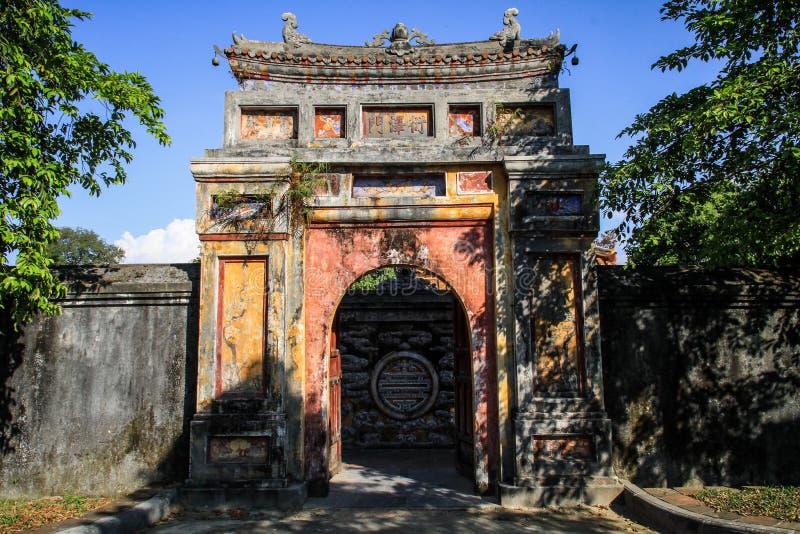 La ciudad imperial de la tonalidad, Thua Thien-Hue, tonalidad, Vietnam fotografía de archivo