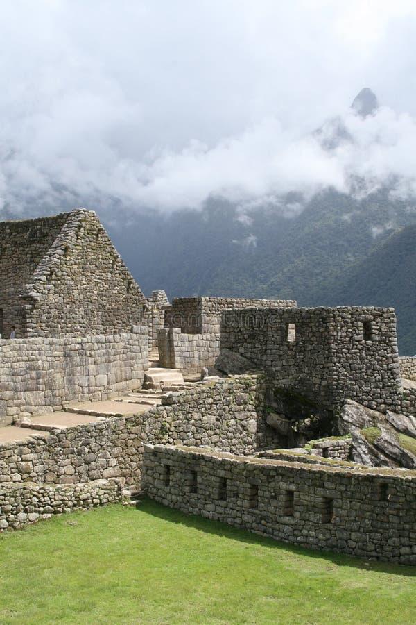La ciudad perdida de Machu Picchu imagen de archivo
